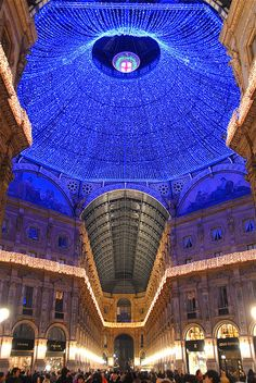 italia, architectur, christmas, beauti, travel, place, light, milano, italy
