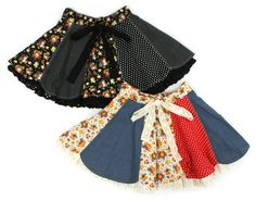 Patchwork skirts - BooFooWoo