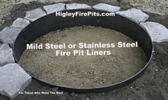 Custom made steel fire rings, covers, grill tops, etc. MADE IN MN - not cheap imports.
