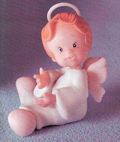 Cold Porcelain Tutorials: Make a Little CP Angel