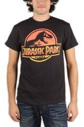Official Jurassic Park 90s Movie T-shirt
