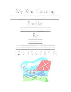 Classroom Freebies: My Kite Counting Booklet