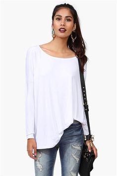 Nahla Long Sleeve in White