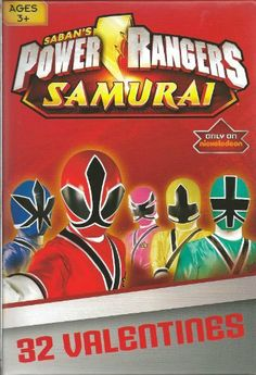Power Rangers Samurai Valentine Cards for Kids (84128370) by Paper Magic. $3.99. Package of 32 valentine cards. Package of 32 Power Rangers Samurai valentine cards for kids by Paper Magic Group.