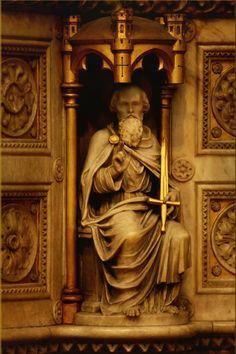 Church Statue St Paul