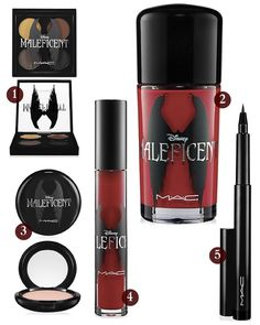 MAC Maleficent Beauty Line. #Maleficent