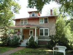 Darlington House @ Whitesbog Village, Browns Mills, NJ. Constructed in 1916.
