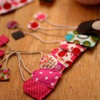 Fabric tea bags, pasta, fruit and other ideas