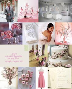 The Pale Pink and Gray Wedding