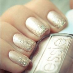 wedding nails, color, fashion boards, manicur, glitter nails, prom, nail ideas, christma, the holiday