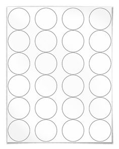 "Free blank label template download: WL-325 round label template in Word .doc, PDF and other formats. Round label template. View here: http://www.worldlabel.com/Pages/wl-ol325.htm | Size: 1.67"" Circle template 