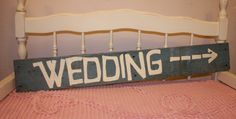 Wedding SIGN Hand Painted on Rustic Blue Barnwood SOMETHING Old New Borrowed and BLUE