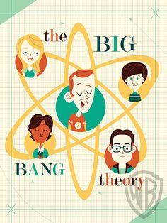 'Big Bang Theory' fun retro art | EW.com