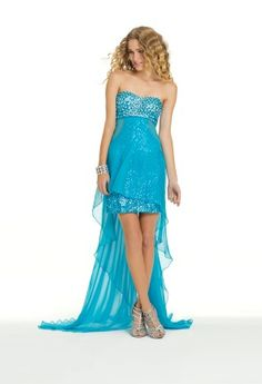 Long Short Cut Out Prom Dress from Camille La Vie and Group USA