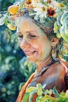 Jeanne Vodden - flower lady