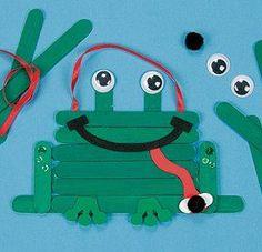 Frog craft.