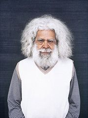 National Portrait Gallery, Canberra; NPG hosts the annual National Photographic Portrait Prize. Image here is the 2012 winning work by Rod McNicol, with a portrait of Jack Charles.