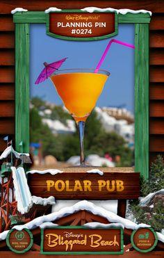 Walt Disney World Planning Pins: Polar Pub