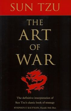 Sun Tzu The Art of War #books #HanshiKaufman #strategy #SunTzu #war #authors