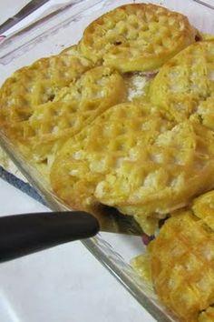 Stuffed Waffles Casserole