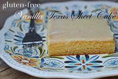 Gluten-Free Vanilla Texas Sheet Cake
