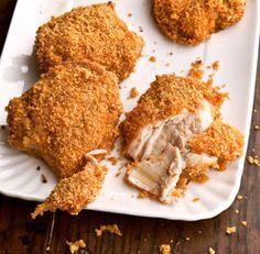 Honey-Crisp Oven-Fried Chicken