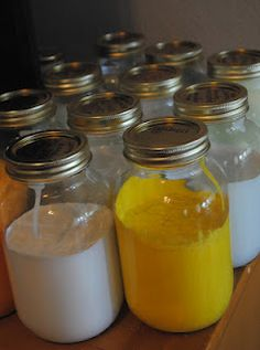 Great idea to organize left over paint!