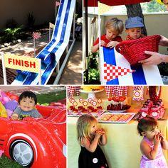 Race Car Birthday Bash Activities!!