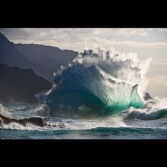 gorgeous! i love the translucency of a wave as it breaks. 'kaboom' by Aaron Feinberg http://afeinbergphotography.com/