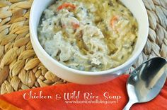 Chicken & Wild Rice Soup Recipe