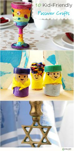 10 Easy Crafts to Celebrate Passover With Kids