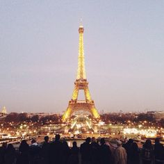 Love the Eiffel Tower at night from @Carin Perry Olsson