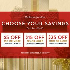 Stock up for the holidays with great savings through 10/30 on Teavana.com