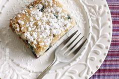 Easy Blueberry Buttermilk Cake | Skinnytaste buttermilk cake, blueberri buttermilk, breakfast recip, cakes, skinnytaste desserts, food, bake, easi blueberri, blueberries