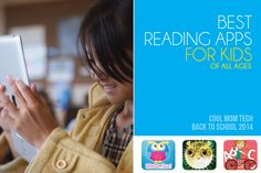 11 Best reading apps for kids: Cool Mom Tech back to school tech guide 2014