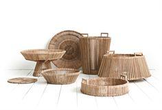 Fruit Baskets, especially designed for Fair Trade Original by Piet Hein Eek. Manufactured by hand in Vietnam.