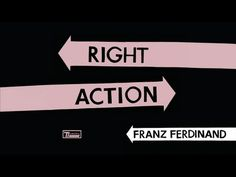 Franz Ferdinand - Right Action (Official Audio) - YouTube