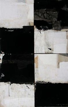 """Jerry Iverson  Nerve Block 18    Mixed Media with Sumi Ink  38"""" x 24"""""""