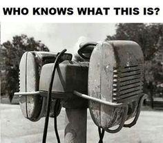 Drive-in speakers