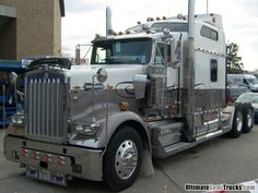 Kenworth W900L from the 2008 Mid America Truck Show