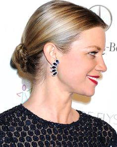 Amy Smart at The Art of Elysium Gala wearing our newly launched Lindsay Allison earring in iolite!