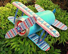 4th-of-july-biplane