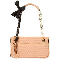 Delia Qulited Bow Bag