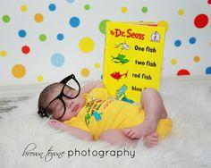 Newborn boy :) Dr. Seuss  style!
