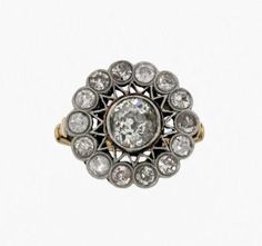 19th century - engagement ring - diamond