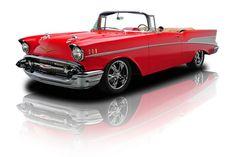 1957 Red Chevy Bel Air Convertible FI LS1 4L60E