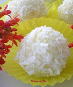 Lemon coconut balls