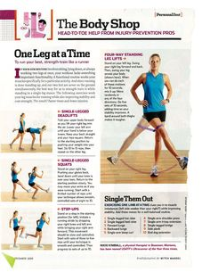 Strengthening exercises and injury prevention for runners