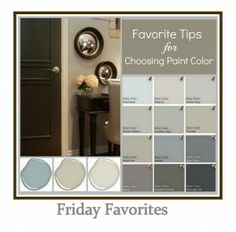 Tips & Tricks for Choosing a Paint Color