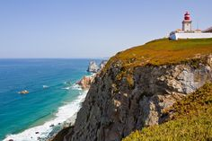 Cabo da Roca was once considered the end of the world, even though it's just the most western point of mainland Europe. The view of the coastline is incredible and it's worth visiting on a day trip from either Lisbon or nearby Sintra. Courtesy of Andrea @Andrea / FICTILIS Anastasakis lisbon travel, the view, day trips, portug, da roca, cabo da